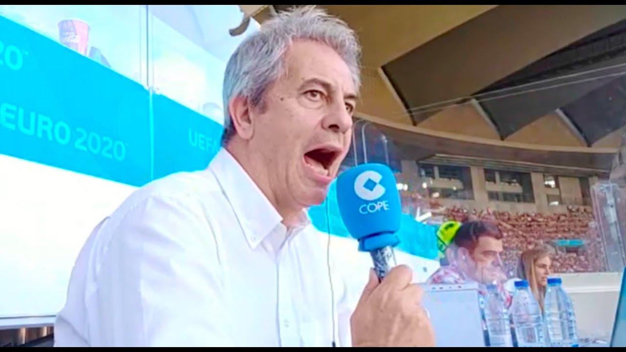 España 5-0 Eslovaquia | Así lo narró Manolo Lama en Tiempo de Juego COPE
