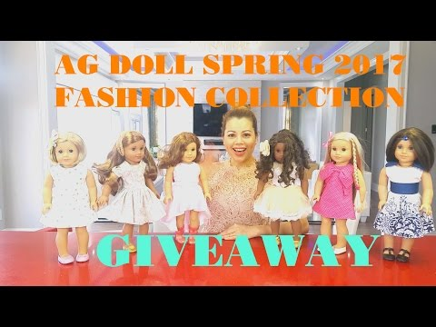American Girl Doll Spring/Summer 2017 Fashion Giveaway