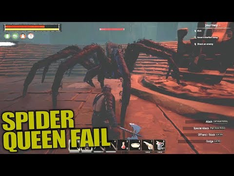 SPIDER QUEEN FAIL | Conan Exiles | Let's Play Multiplayer Gameplay | S03E05