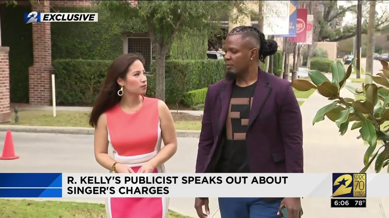 EXCLUSIVE:  R Kelly's publicist speaks out about singer's charges