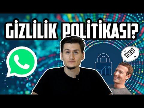 WhatsApp'ı Siliyor Muyuz?   Whatsapp Sözleşmesi   Gizlilik Politikaları