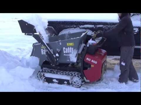 Mini Track Dumper Snow Removal Rc 800 Pmi Equipment