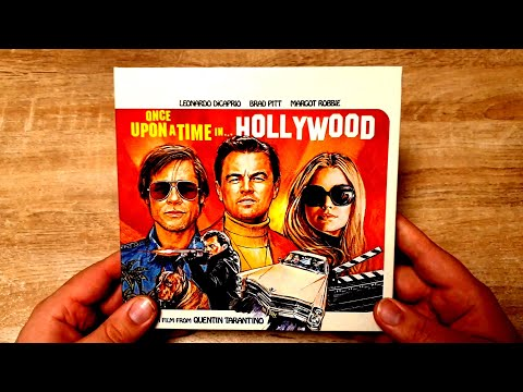 ONCE UPON A TIME IN HOLLYWOOD Amazon Exklusiv Limited Collectors Edition 4K/Blu-Ray Mit Vinyl Single