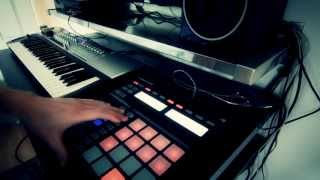 Native Instruments Maschine Breaks - Ambient Breakbeat style track