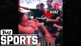 Nate Diaz Fights In Stands at MMA Event, Again | TMZ Sports