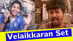 Velaikkaran Set – Press and Media Visit