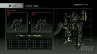 Armored Core 4 PlayStation 3 Gameplay - Look at everything