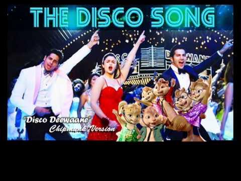 Disco Deewane - Student of the year - Chipmunk Version with lyrics