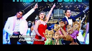 Disco Deewane - Student of the year - Chipmunk Version with lyrics