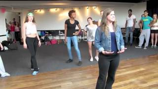 BROADWAY DREAMS FOUNDATION: WWRY MEDLEY (REHEARSAL) FEAT. TONY VINCENT