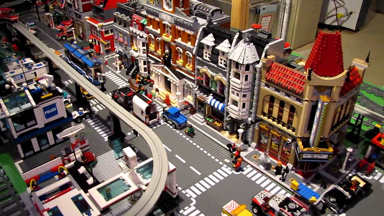 how to make lego theater
