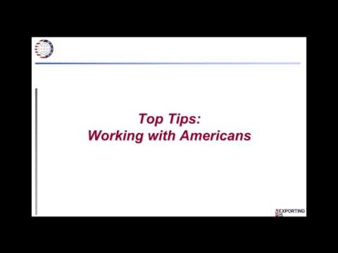 Working with Americans: How to Build Profitable Business Relationships