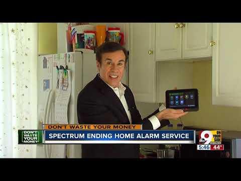 Spectrum Ending Home Alarm Service