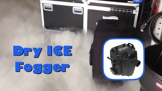 chauvet nimbus dry ice fogger