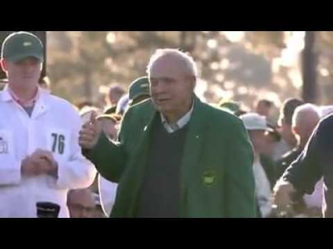 US Masters 2016 Honorary Starters Jack Nicklaus Gary Player and Arnold Palmer