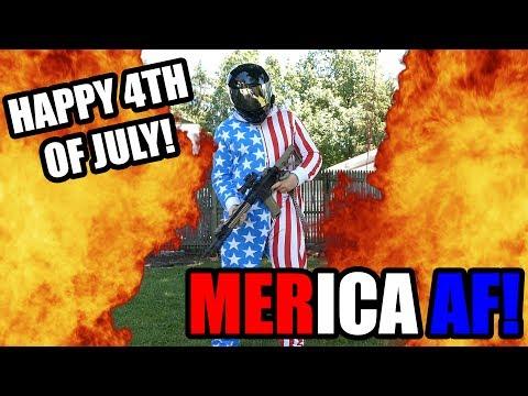 MERICA AF  4th Of July!