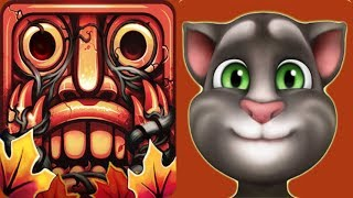 Temple Run 2 AUTUMN SEASON FINISHED^Vs My Talking Tom Fidget Spinner Hat*Gameplay make for Kid #124