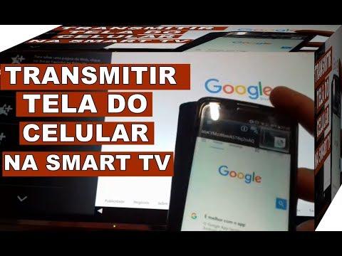 Como Conectar Celular Android Na SMART TV Panasonic Viera Sem Cabos