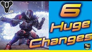 Destiny 2 | Top 6 Huge Changes Coming in Destiny 2.