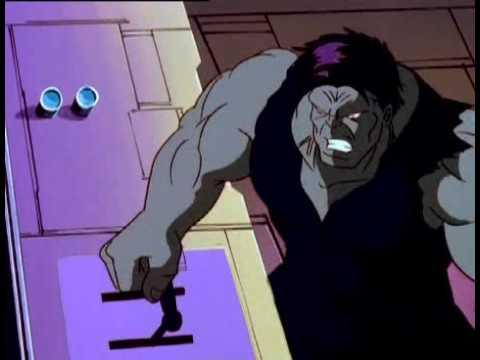 Mission Incredible: Grey Hulk (Hybrid) Changes into Green Hulk