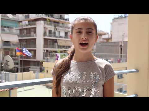Armenian Genocide Centennial - AYF Juniors (badanegan) Greece - ENGLISH subs