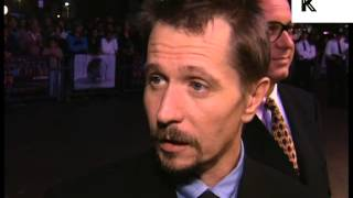 Gary Oldman at 1997 Nil by Mouth Film Premiere, London, 1990s Archive