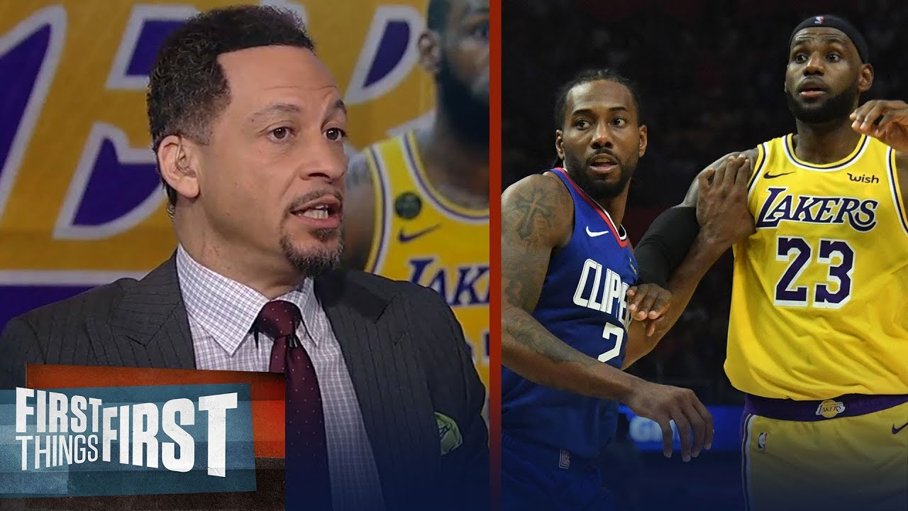 I'll take the Clippers over the Lakers in 7-game series — Chris Broussard | NBA | FIRST THINGS FIRST