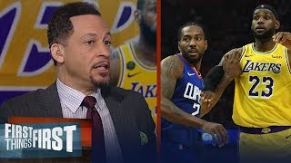 Chris Broussard: I'll take the Clippers over the Lakers in 7-game series | NBA | FIRST THINGS FIRST