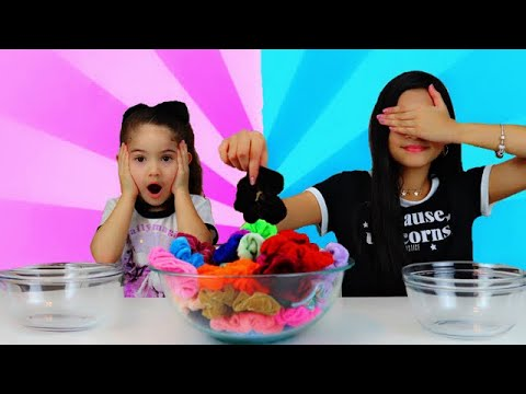 Colored Scrunchies PICK My Slime Ingredients Challenge!