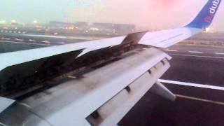 Fly Dubai (landing to Dubai International Airport, terminal 2)