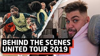 Manchester to Perth | United Tour 2019 | Day One