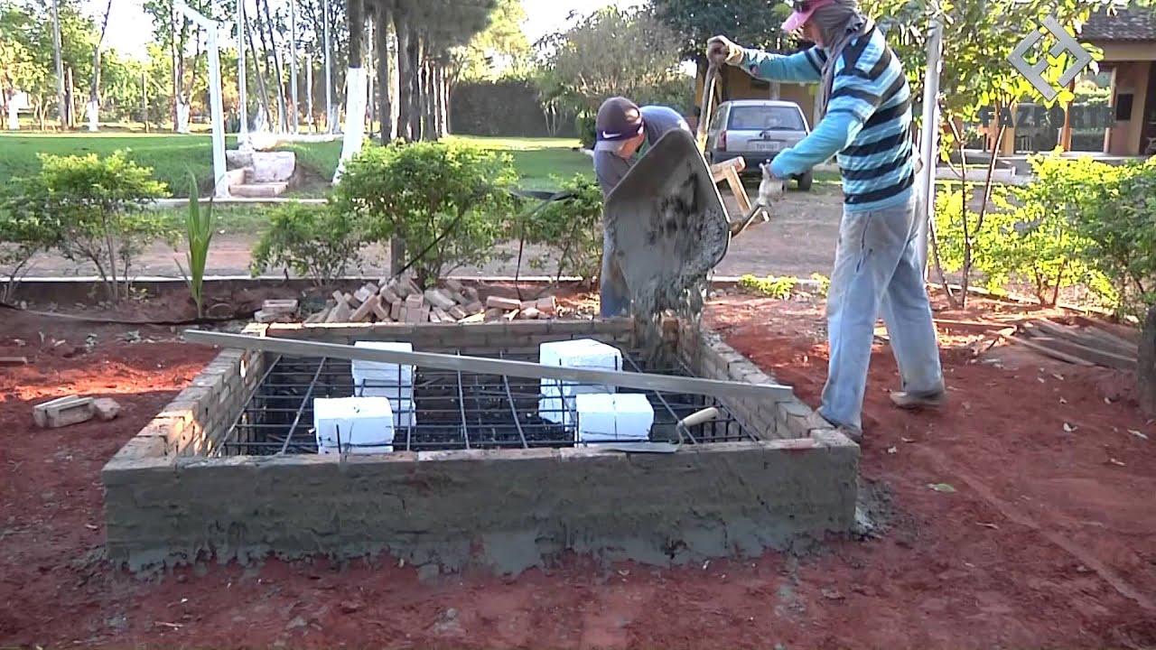 Como fazer uma base para caixa d 39 gua tipo ta a youtube for Como fabricar tanques de agua para rusticos