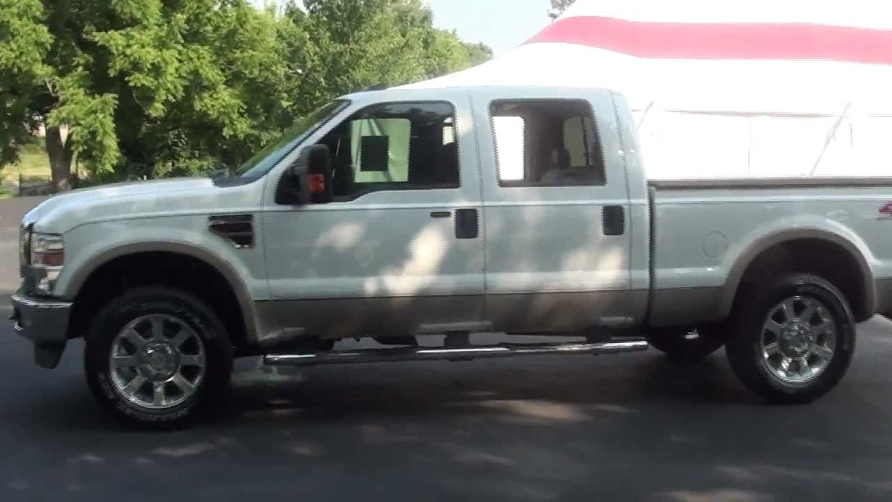 for sale 2008 ford f 250 lariat 1 owner low mileage stk p5560 youtube. Black Bedroom Furniture Sets. Home Design Ideas
