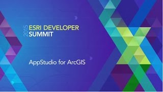 App studio for ArcGIS
