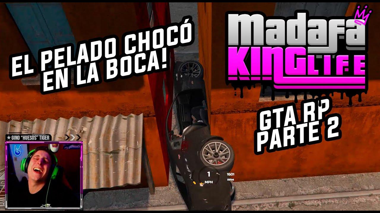 Me CHOCÓ Dominic Navajas y la cancha de Boca! Parte 2 en la  🔥MADAFAKING LIFE🔥 GTA RolePlay