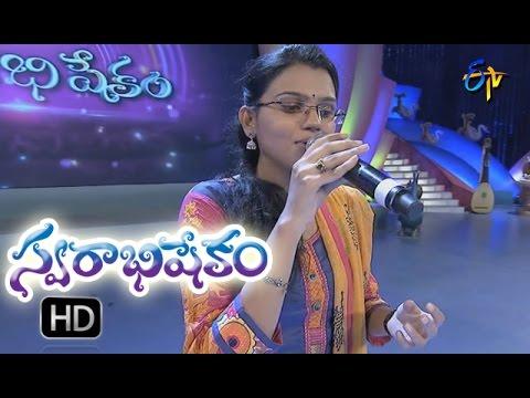 Sadiseyako Gaali Song |  Pranavi Performance | Swarabhishekam |  11th  September 2016|  ETV  Telugu