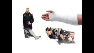 За что избили полицейского Даниленко.....?