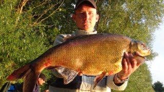 Рыбалка в Германии - 7 . Ловля крупного леща,от 2 кг.
