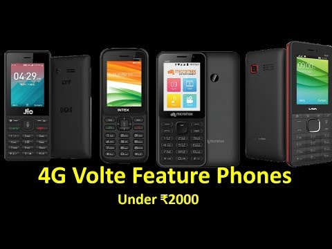 Top 4G  Phones Under ₹2000 | Best 4g Phones Under ₹2000.
