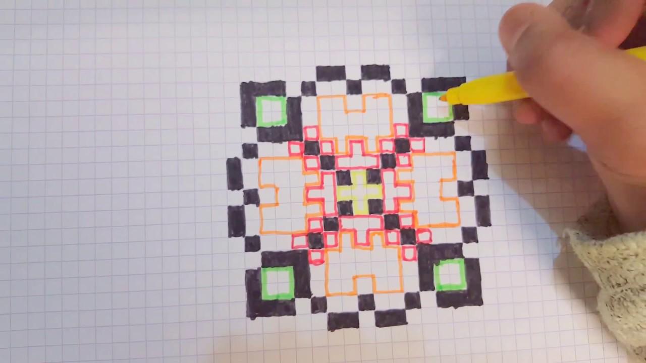 Tutocomment Faire Un Pixel Art En Fleur