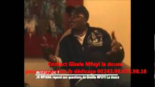 Giselle mfuyi la douce sensation 7 reçoit JB MPIANA affaire Zenith 2012