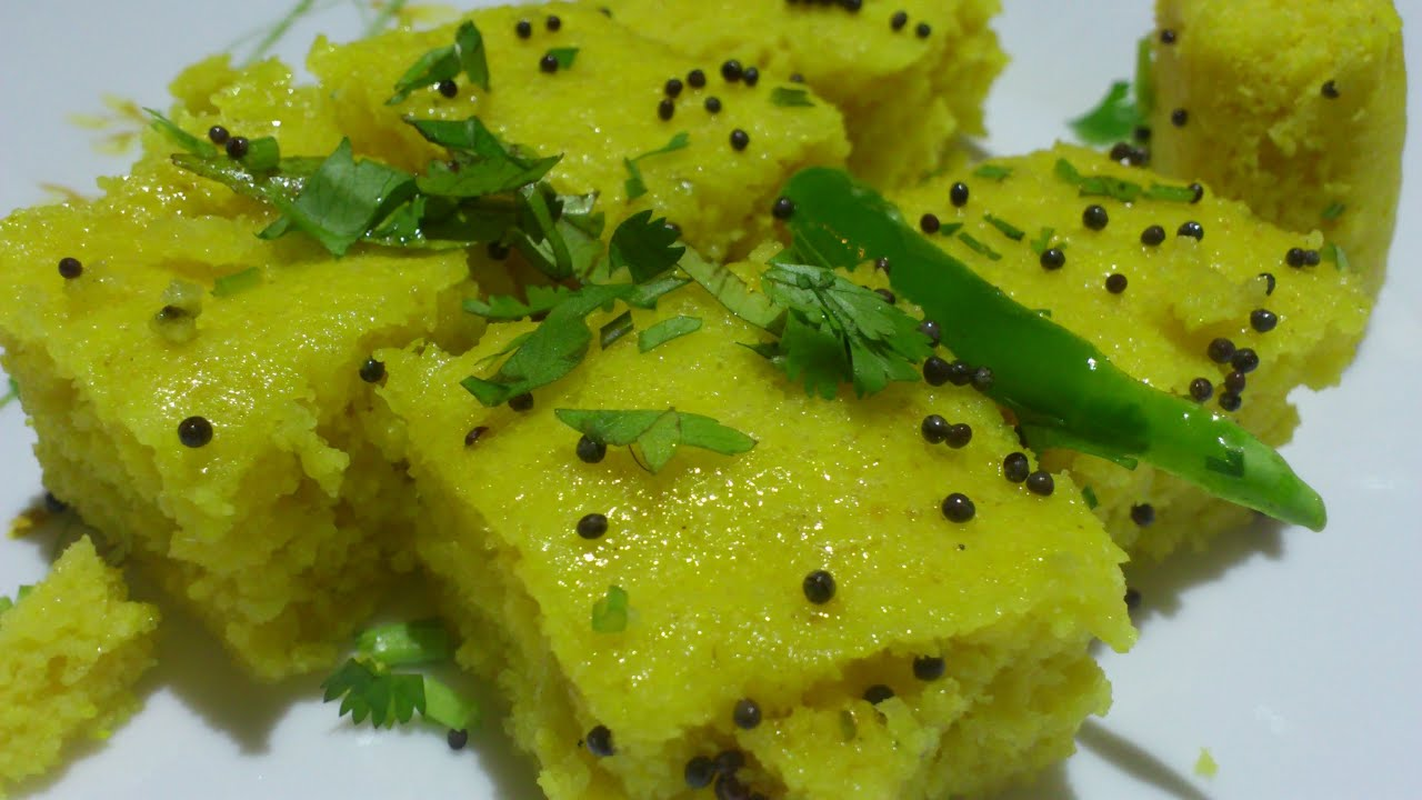 Khaman dhokla recipe easy quick youtube forumfinder Choice Image
