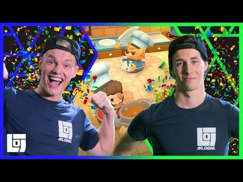 Overcooked met Enzo en Link | Let's Play | LOGNL