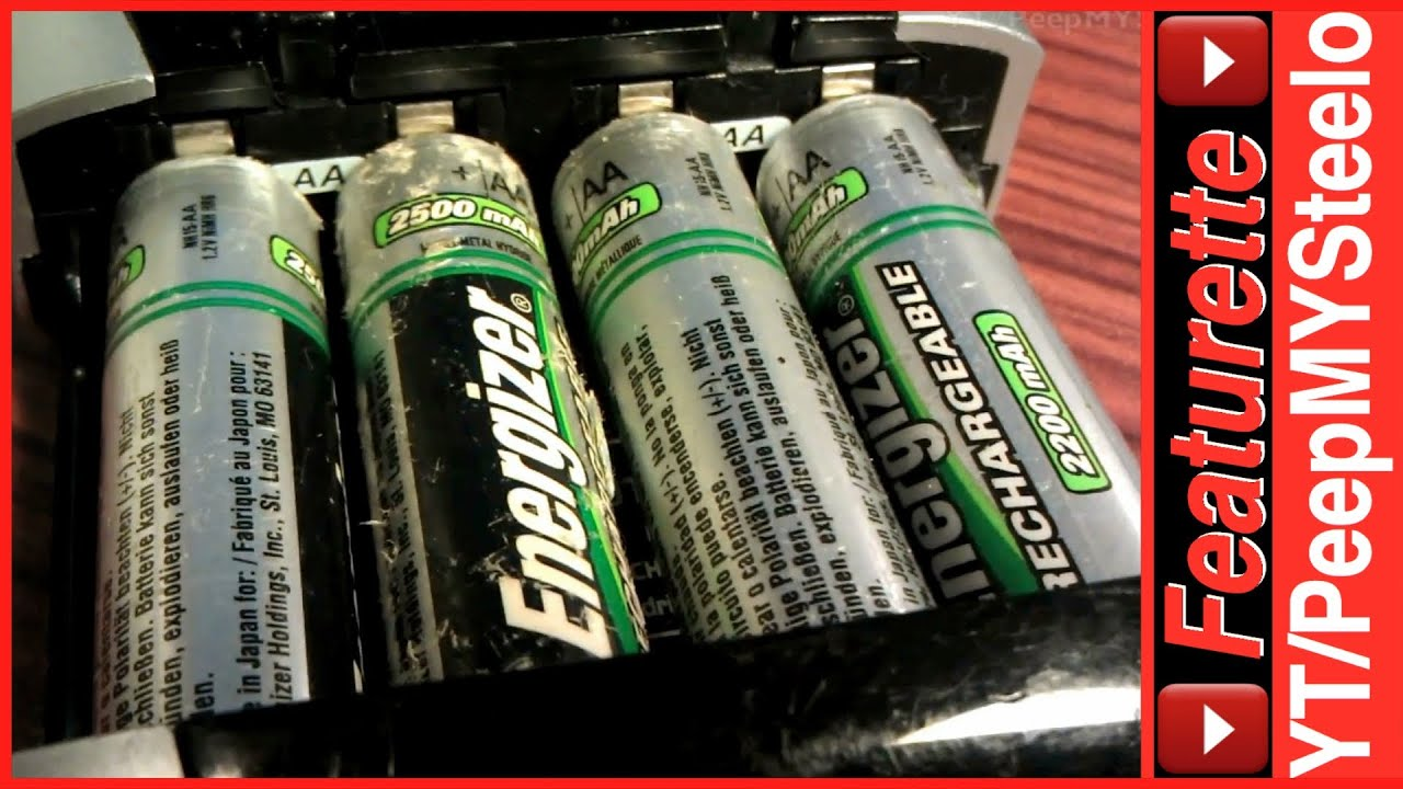 Energizer Rechargeable Battery Charger For AA AAA Ni MH Batteries Best Portable Charging