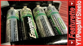 Energizer Rechargeable Battery Charger For AA & AAA Ni-MH Batteries For Best Portable Charging