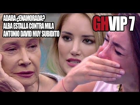 GHVIP 7- Adara ¿Enamorada? Mila se da contra la pared + Antonio David el intenso