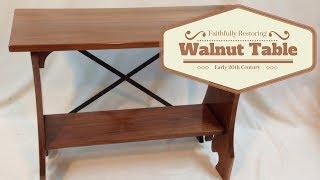 Fanzini Walnut Table
