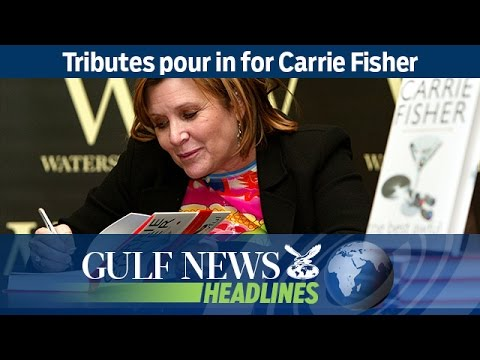 Tributes pour in for Carrie Fisher - GN Headlines