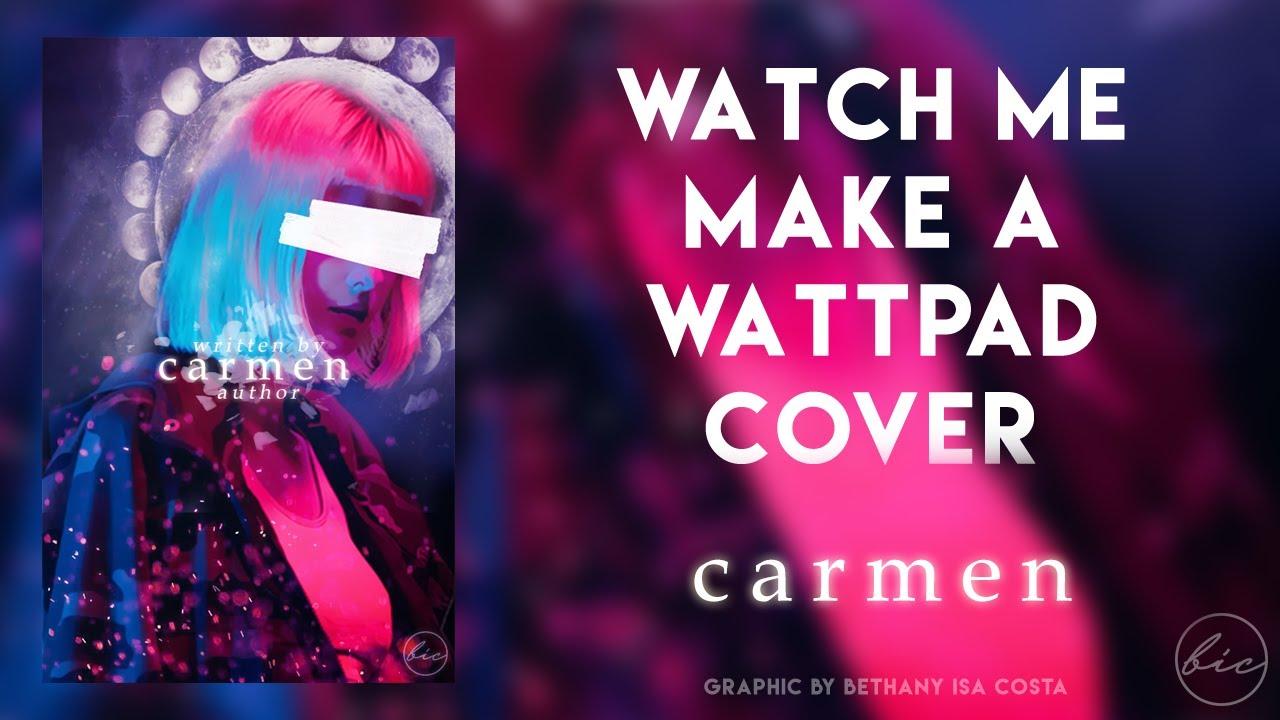 how to make a wattpad cover
