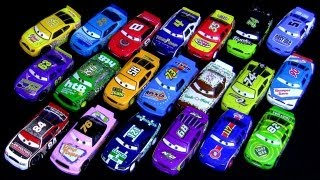 20 Cars Piston Cup Racers Synthetic Rubber Tires